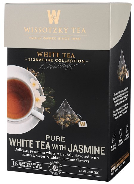 The Signature Collection by Wissotzky - Pure White Tea with Jasmine