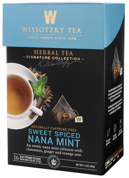 The Signature Collection by Wissotzky - Sweet Spiced Nana Mint