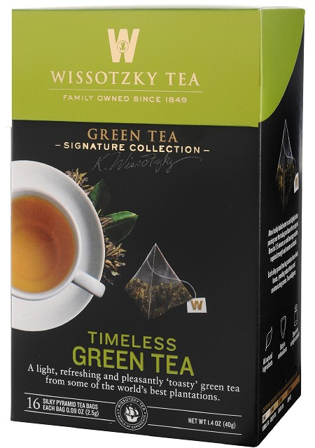 The Signature Collection by Wissotzky - Timeless Green Tea