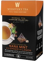 The Signature Collection by Wissotzky - Nana Mint with Ginger and Lemon