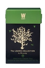 The Leaves Collection by Wissotzky Oriental Green Tea - Spearmint Green Tea
