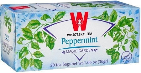 Wissotzky Tea Peppermint Tea / Box Of 20 Bags (Pack of 6)