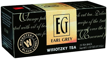 Wissotzky Tea Earl Grey / Box Of 25 Bags