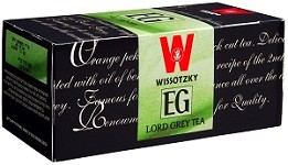 Wissotzky Tea Lord Grey Tea / Box Of 25 Bags
