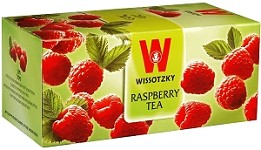 Wissotzky Tea RaspberryTea /Box of 25 bags