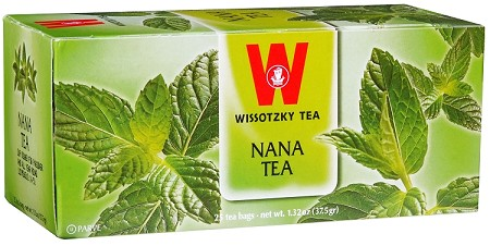 Wissotzky Tea Nana Tea Box Of 25 Bags