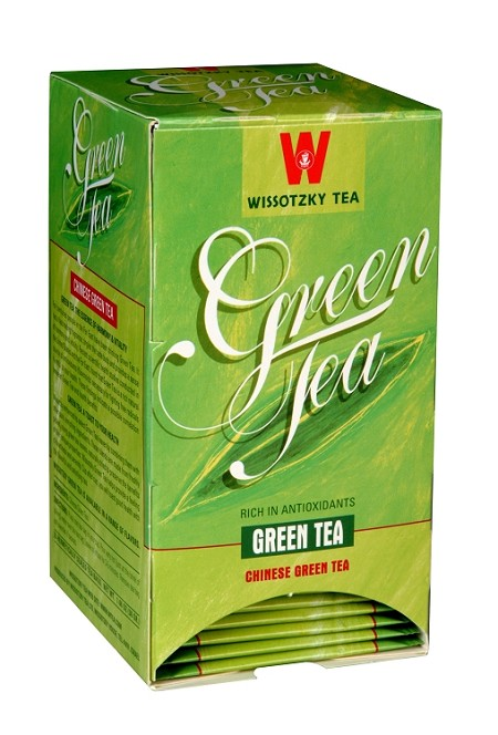 Wissotzky Tea Chinese Green Tea / Box of 20 tea bags