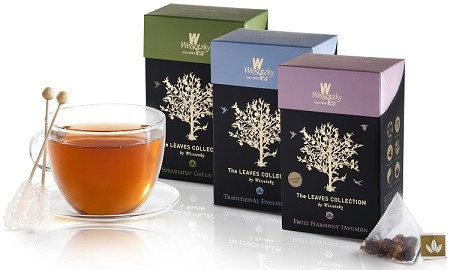 Wissotzky Tea  - Leaves Collection Pyramid Shaped Gift Set