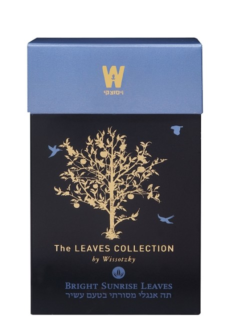The Leaves Collection by Wissotzky Bright Sunrise Leaves - Traditional English tea
