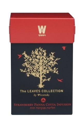 The Leaves Collection by Wissotzky - Strawberry Panna Cotta Infusion