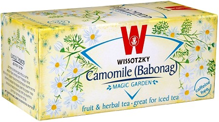 Wissotzky Tea Chamomile Tea / Box of 20 bags