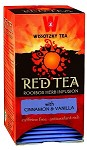 Wissotzky Tea Red Tea – Cinnamon and Vanilla / Box of 20 bags