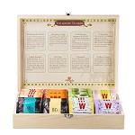 Wissotzky Tea Magic Tea Chest, Assorted Tea Collection w/ 88 Assorted Teas
