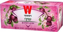 Wissotzky Tea Plum Blossom / Box of 25 bags