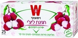 Wissotzky Tea Litchi Celebration / Box of 25 bags