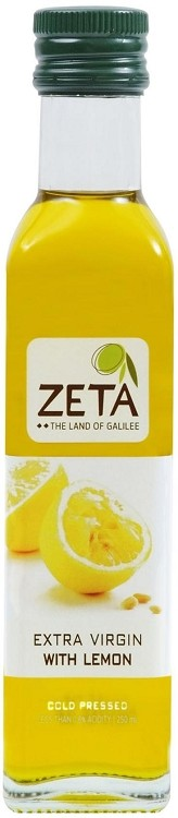 Zeta Extra Virgin Olive Oil - Lemon - 250ml