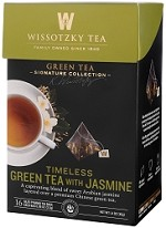 The Signature Collection by Wissotzky - Timeless Green Tea with Jasmine