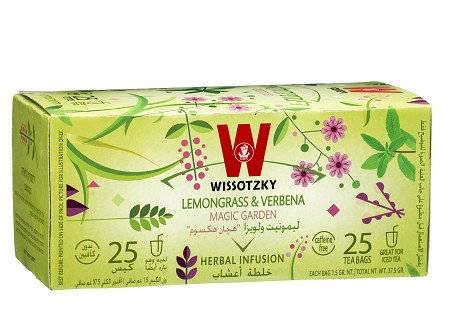 Lemongrass & Verbena Tea / Box of 25 bags