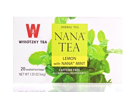 Wissotzky Tea Lemon with Nana Mint / Box of 20 bags