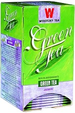 Wissotzky Tea Jasmine Green Tea / Box of 20 tea bags