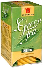 Wissotzky Tea Green tea with Lemon & Honey