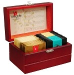 Wissotzky Tea Royal Tea Chest / 4 Assorted Flavours / 32 Tea Bags
