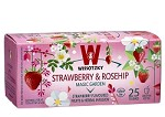 Strawberry & Rosehip Tea / Box of 25 bags