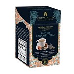 Wissotzky Tea Signature Collection, Artisan Chai Tea, Salted Caramel Chai, 16 Count