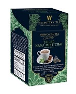 Wissotzky Tea Signature Collection, Artisan Chai Tea, Spiced Nana Mint Chai, 16 Count